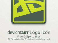 DeviantART Logo Icon—Download