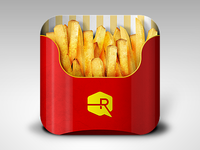 Fries App iOS Icon