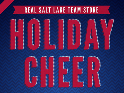 Real Salt Lake Holiday Cheer Poster 2