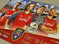 2013 Real Salt Lake Schedule Poster
