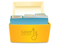 Savorly Recipe Box