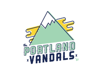 Portland Vandals Illustration