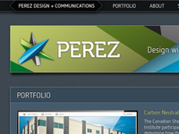 Perez Website Rebranding