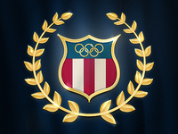 Team USA Olympic Badge