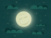 Night_illustration_textured_dribbble_teaser