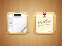 Notes iOS Icon