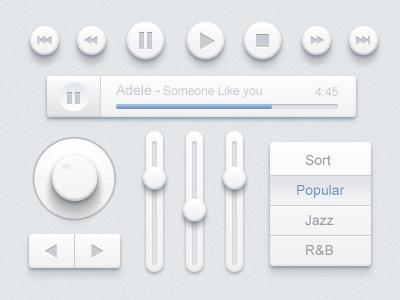 Music-ui-design-kit