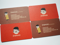 Zwang Namecard - Autumn