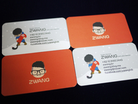 ZWANG business card for Winter