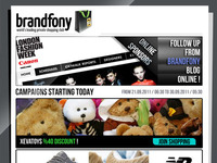 Brandfony E-Newsletter Template -PSD-