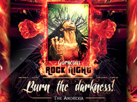 Gorgeous Rock Night Concert Flyer -PSD-