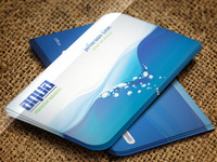 Aqua Creative Business Card -PSD-