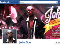 Birthday Bash Facebook Timeline Cover