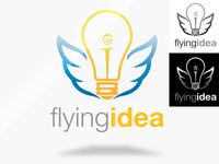 Flying Idea Logo Template