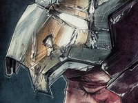 Iron Man 3 Poster Illustration