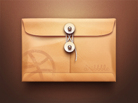 Dribbble Envelope