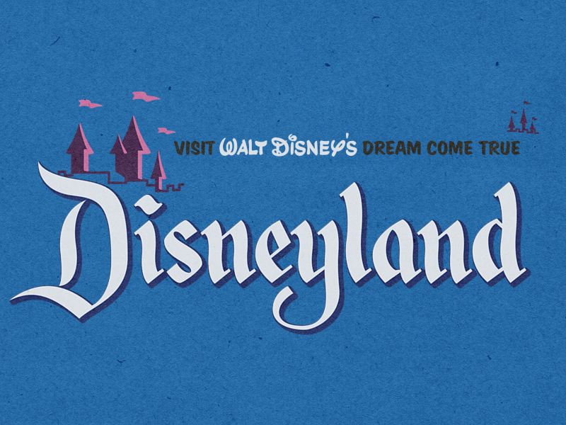 Disneyland-ticket