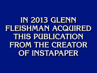 """What is The Magazine?"""