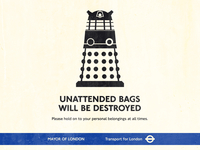 Unattended Bags Will Be Destroyed