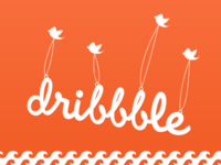 Fly Dribbble Orange
