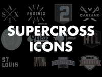 Vurb Supercross Icons (Full Set)