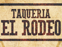 Taqueria El Rodeo Business Card