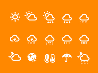 Weather icons 2