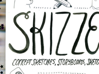 Skizze! Exhibition and Reception Poster