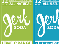 Label Ideation for Jerk Soda Packaging 2