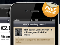 The new Buddy Beers iPhone App