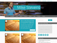 Youth Minister Blog Theme