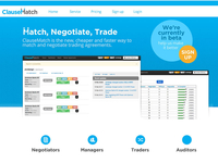 Trade Negotiation Landing Page
