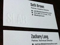 SLAB Business Cards