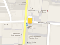 Map Beer Icon