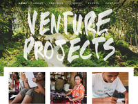 Venture Projects website- WIP