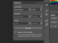 Photoshop Typecase Extension