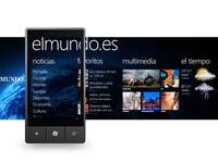 El Mundo for Windows Phone - WIP
