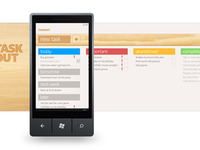 Taskout Windows Phone App