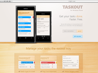 Taskout App Website