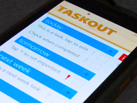 Taskout App Windows Phone