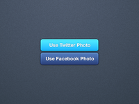 Social Media Image Import Buttons