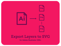 Export Layers to SVG - Script Adobe Illustrator CS5+