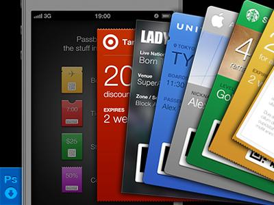 Download Passbook GUI PSD