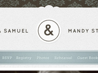 Ampersand Wedding