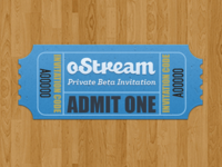 oStream - Private Beta Invitation