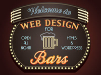 Web Design For Bars