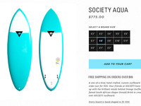 Society Product Detail Page