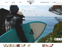 Society Home Page Design