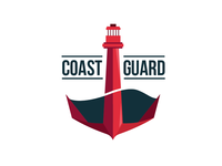 3rd round US Coast Guard logo redesign