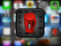Punch.in iOS App Icon